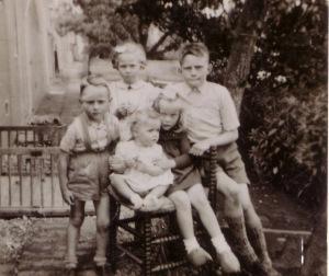 Vijf kinderen