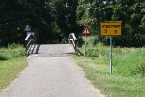 Verkeersborden Breekade brug 1