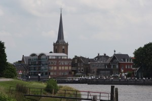 Ouderkerk dorp vanaf overkant1