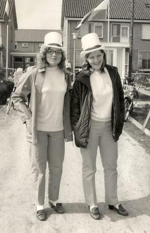 Anneke en Marrie