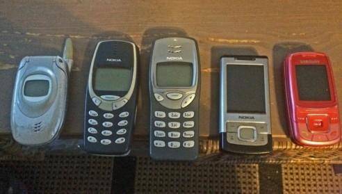 Telefoons (Klein)