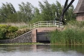 Molen Kinderdijk detail (Middel)