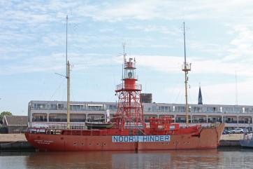 Hellevoetssluis Noord Hinder lichtschip (Middel)
