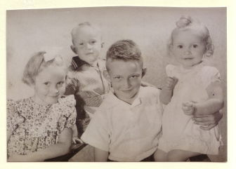 Anneke, Mart, Kees en Jannie