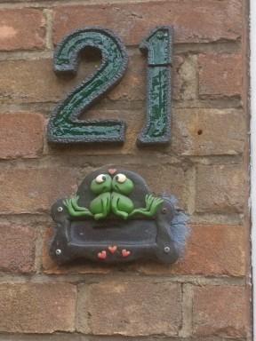 Huisnummer (Middel)